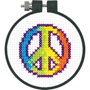Rainbow Peace - Dimensions Cross Stitch Kit