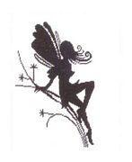 Lanarte Little Fairy Silhouette Cross Stitch Kit