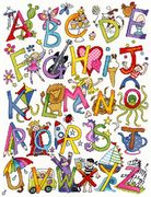 Alphabet Fun - Bothy Threads Cross Stitch Kit