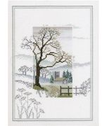 Derwentwater Designs Winter Tree Cross Stitch Kit