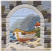 Derwentwater Designs Boat thru' Archway Long Stitch Kit