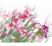 RIOLIS Irises Cross Stitch Kit