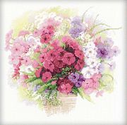 RIOLIS Watercolour Phlox Cross Stitch Kit