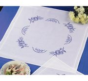 White Square Tablecloth - Permin Cross Stitch Kit