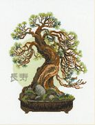 RIOLIS Bonsai Wish of Longevity Cross Stitch Kit