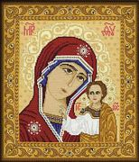 RIOLIS Our Lady of Kazan Cross Stitch Kit
