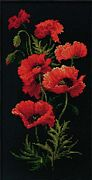 RIOLIS Poppies Cross Stitch Kit