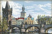 Charles Bridge - Prague - RIOLIS Cross Stitch Kit