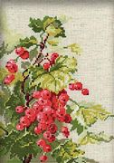 RIOLIS Red Currant Cross Stitch Kit
