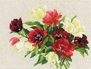 RIOLIS Tulips Cross Stitch Kit