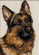German Shepherd - RIOLIS Cross Stitch Kit