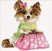 RIOLIS Chihuahua Cross Stitch Kit