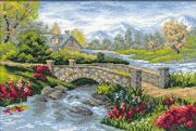 RIOLIS Summer View Cross Stitch Kit