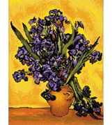 RIOLIS Van Gogh - Irises Cross Stitch Kit
