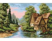 RIOLIS The Mill Cross Stitch Kit