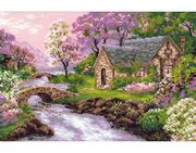 RIOLIS Spring View Cross Stitch Kit