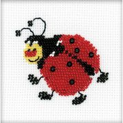 RIOLIS Ladybird Beaded Embroidery Cross Stitch Kit