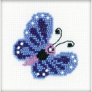 Butterfly Beaded Embroidery - RIOLIS Cross Stitch Kit
