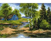 RIOLIS Summer House Cross Stitch Kit