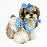 RIOLIS Shih Tzu Cross Stitch Kit