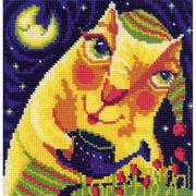RIOLIS Midnight Tulips Cross Stitch Kit