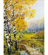RIOLIS The Birches Cross Stitch Kit