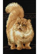 RIOLIS Persian Cat Cross Stitch Kit