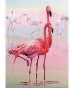RIOLIS Flamingo Cross Stitch Kit
