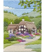 Derwentwater Designs Cottages Summer Long Stitch Kit