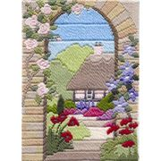 Derwentwater Designs Summer Garden Long Stitch Kit