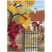 Derwentwater Designs Autumn Garden Long Stitch Kit