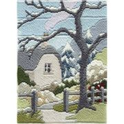 Derwentwater Designs Winter Garden Long Stitch Kit