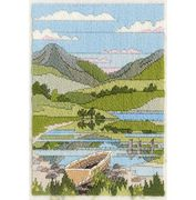 Derwentwater Designs Mountain Spring Long Stitch Kit