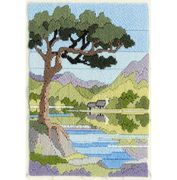 Derwentwater Designs Mountain Summer Long Stitch Kit