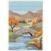 Derwentwater Designs Mountain Autumn Long Stitch Kit