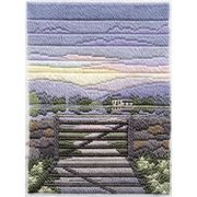 Derwentwater Designs Spring Evening Long Stitch Kit