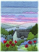 Derwentwater Designs Summer Evening Long Stitch Kit