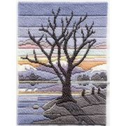 Derwentwater Designs Winter Evening Long Stitch Kit