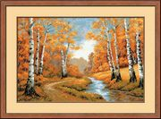 RIOLIS The Golden Grove Cross Stitch Kit