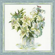 White Lillies - RIOLIS Cross Stitch Kit