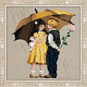 RIOLIS First Date Cross Stitch Kit
