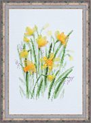 Spring Narcissus - RIOLIS Cross Stitch Kit
