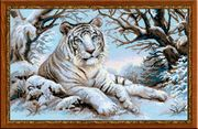 RIOLIS Bengal Tiger Cross Stitch Kit