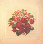 Roses - Permin Cross Stitch Kit