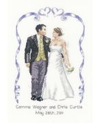 Heritage Wedding Celebration - Evenweave Wedding Sampler Cross Stitch Kit