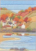 Derwentwater Designs Coastal Autumn Long Stitch Kit