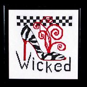 Wicked - Bobbie G Designs Cross Stitch Kit