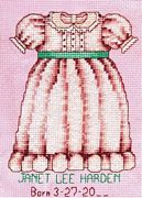 Sweet Baby Girl - Bobbie G Designs Cross Stitch Kit
