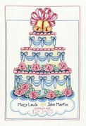 Wedding Cake - Bobbie G Designs Cross Stitch Kit