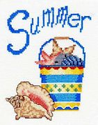 Summer in the Sand - Bobbie G Designs Cross Stitch Kit